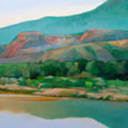 Chama River Art Print by Cap Pannell