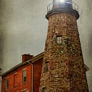 Charlotte Genesee Lighthouse Art Print