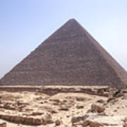 Cheops Pyramid - Egypt Art Print