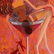 Cherry Cosmotini Art Print