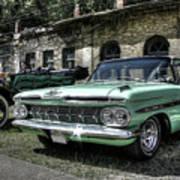 Chevrolet El Camino Art Print