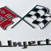 Chevy Emblem Art Print
