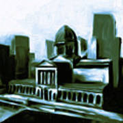 Chicago Federal Building 540 3 Art Print