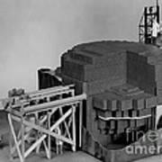 Chicago Pile-1, Scale Model Art Print