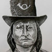 Chief Bird Arapahoe Art Print