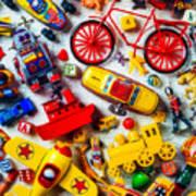 Childhood Toys Art Print