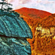 Chimney Rock Art Print