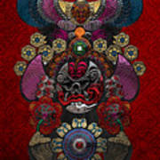 Chinese Masks - Large Masks Series - The Demon Art Print