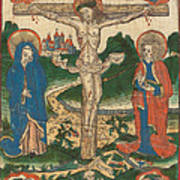 Christ On The Cross Art Print