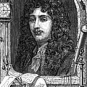 Christiaan Huygens, Dutch Polymath Art Print