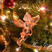 Christmas Angel Art Print