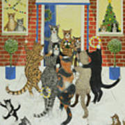 Christmas Carols Art Print