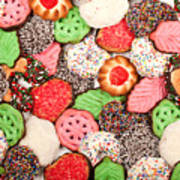 Christmas Cookies Art Print