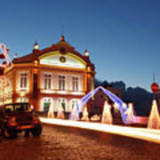Christmas In Ribeira Grande Art Print