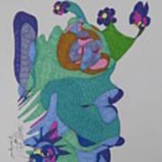 Christy's Jester Art Print