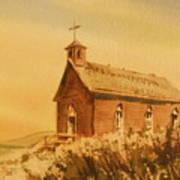 Church Manhattan Nevada Art Print