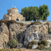 Church Of Profitis Elias - Cyprus Art Print