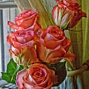 Cindy's Roses Art Print