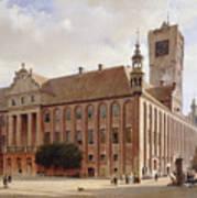 City Hall At Thorn Art Print