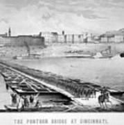 Civil War: Pontoon Bridge Art Print