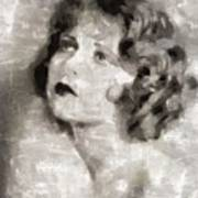 Clara Bow Vintage Hollywood Actress Art Print