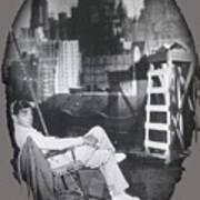 Clark Gable Mgm Sound Stage Circa 1932-2008 Art Print