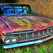 Classic Chevy Art Print