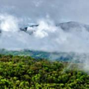 Clearing Storm West Virginia Highlands Art Print
