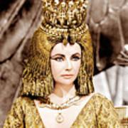 Cleopatra, Elizabeth Taylor, 1963 Art Print