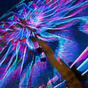 Close-up Of Paper Windmills Art Print