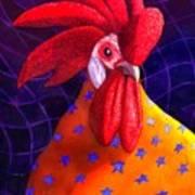 Cock A Doodle Dude Art Print