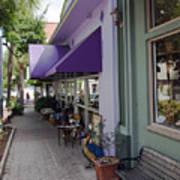 Cocoa Village In Florida Art Print
