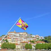 Coimbra Skyline Portugal Art Print