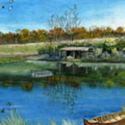 Cole Hill Pond Art Print
