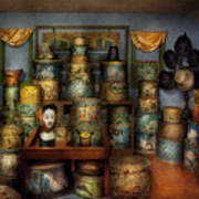 Collector - Hats - The Hat Room Art Print by Mike Savad