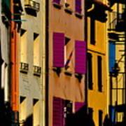 Collioure Street Art Print