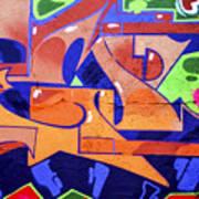 Colorful Abstract Street Art  Art Print