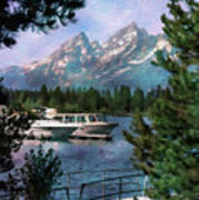Colter Bay In The Tetons Art Print