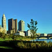 Columbus Ohio Panorama Art Print