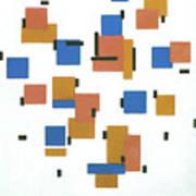 Composition With Colours Art Print