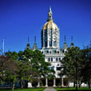 Connecticut State Capitol Art Print