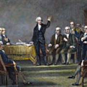 Constitutional Convention Art Print by Granger