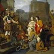 Continence Of Scipio Art Print