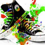 Converse All Stars Art Print