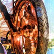 Copper Bike Liberty Ambassador Ny Art Print