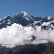Cordillera Real And Illampu Art Print