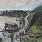 Corral Canyon View Art Print