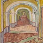Corridor In The Asylum Art Print