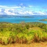 Costa Rica Landscape Art Print