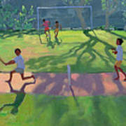 Cricket Sri Lanka Print by Andrew Macara